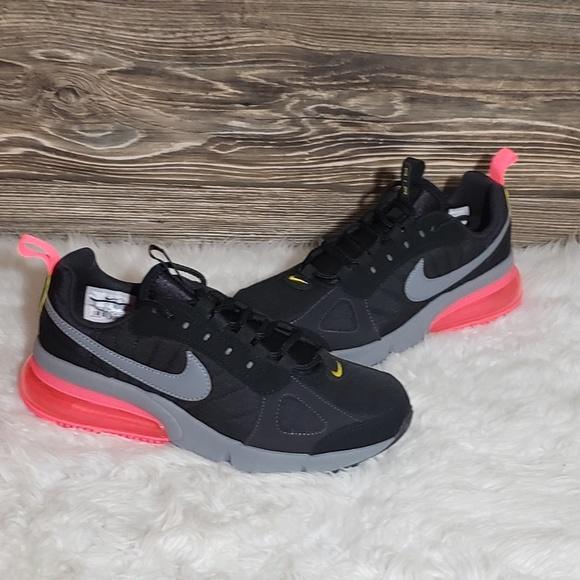New Nike Air Max 270 Futura Black Running Shoes NWT